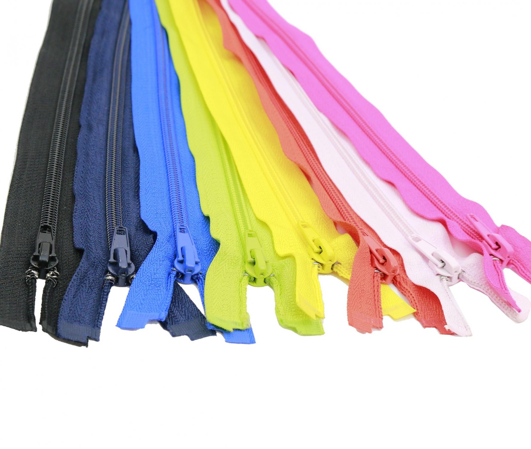 Fermoare Spiralate Nylon Zipper