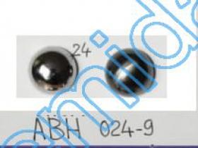 Nasturi cu Picior H1626, Marimea 24 Lin (100 buc/pachet)  Nasturi Plastic Metalizati ABH024-9, Marimea 24 (144 buc/pachet)