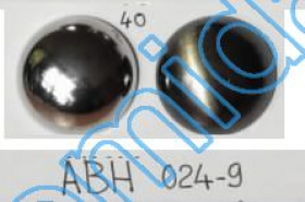 Nasturi Plastic Metalizati ABH024-9, Marimea 24 (144 buc/pachet) Metalized Plastic buttons ABH024-9, Size 40 (144 pcs/pack)