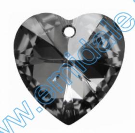 Swarovski Elements - 6041-MM38 (6 buc/pachet) Culoare: Crystal Satin Swarovski Elements - 6228 (72 bucati/pachet) Culoare: Silver Night