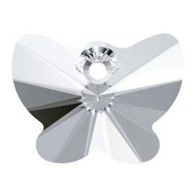 Cristale de Cusut 3500-MM17X9.5 (1 buc/pachet) Crystal Silver Shade Pandantiv Swarovski, 18 mm, Culori: Crystal (1 bucata)Cod: 6754