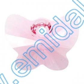 Swarovski Elements - 6000-MM13x6.5 (288 buc/pachet) Culoare: Siam Swarovski Elements - 6754 (72 bucati/pachet) Culoare: Light Rose