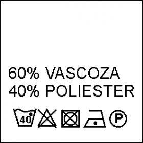 Etichete Compozitie  Made in Romania (1000 bucati/pachet) Etichete Compozitie 60% VASCOZA si 40% POLIESTER (1000 bucati/pachet)