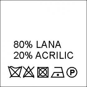 Etichete Compozitie  Made in Romania (1000 bucati/pachet) Etichete Compozitie 80% LANA si 20% ACRILIC (1000 bucati/pachet)