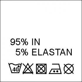 Etichete Compozitie 100% ACRILIC (1000 bucati/pachet) Etichete Compozitie 95% IN si 5% ELASTAN (1000 bucati/pachet)