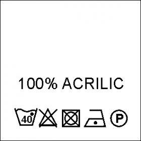 Etichete Compozitie  Made in Romania (1000 bucati/pachet) Etichete Compozitie 100% ACRILIC (1000 bucati/pachet)