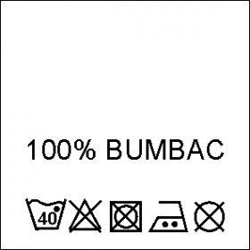Etichete Compozitie  100% VASCOZA (1000 bucati/pachet) Etichete Compozitie 100% BUMBAC (1000 bucati/pachet)