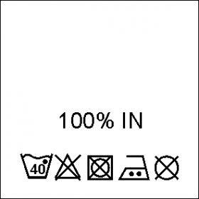 Etichete Compozitie 70% BUMBAC si 30% VASCOZA (1000 bucati/pachet) Etichete Compozitie 100% IN (1000 bucati/pachet)