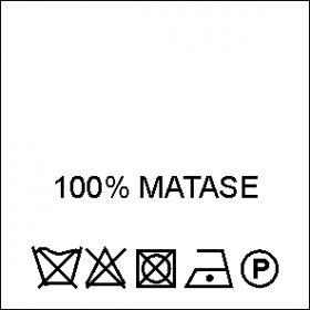 Etichete Compozitie 55% BUMBAC si 45% POLIESTER (1000 bucati/pachet) Etichete Compozitie 100% MATASE (1000 bucati/pachet)