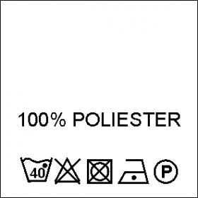 Etichete Compozitie 65% POLIESTER si 35% BUMBAC (1000 bucati/pachet) Composition Labels 100% Polyester (1000 pcs/pack)
