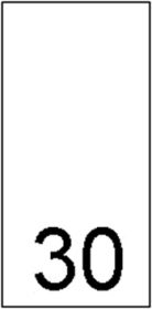 Etichete Marimi Imprimate - Marimea L (1000 bucati/pachet) Etichete Marimi Imprimate - Marimea 30 (1000 bucati/pachet)