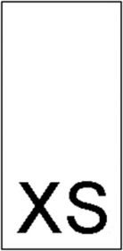 Etichete Marimi Imprimate - Marimea L (1000 bucati/pachet) Etichete Marimi Imprimate - Marimea XS (1000 bucati/pachet)
