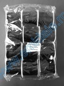 Elastic (benzi elastice) Guta Elastica, 0.6 mm (12 role/pachet) Negru