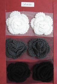 Pasmanterie cu Paiete si Margele, Model Floare, latime 5 cm (9 metri/rola)Cod: 40307 Pasmanterie, latime 80 mm (10 yards/rola)Cod:LA0030