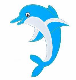 Embleme Termoadezive ( 10 bucati/pachet) Cod: 390678 Embleme Termoadezive, Model Delfin (1 bucata/pachet)Cod: M30264