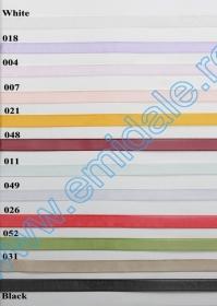Banda Organza, latime 18 mm (45,72 m/rola) Banda Organza, latime 9 mm (45,72 m/rola)