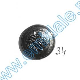 Nasture Plastic Metalizat JU932, Marimea 40, Antic Brass (100 buc/punga)  Nasturi A244, Marimea 34 (100 buc/pachet)