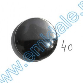 Nasturi A832, Marime 24, Argintii (100 buc/pachet)  Nasturi A363-BNN, Marimea 40 (100 buc/pachet)
