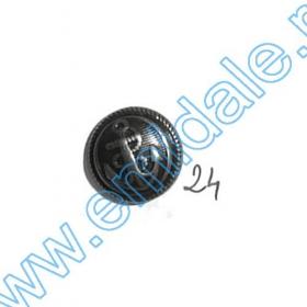 Nasturi Metalizati, cu Picior, din Plastic, marime 40 Lin (144 bucati/pachet) Cod: B6314 Nasturi A539, Marimea 24 (100 buc/pachet)