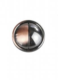 Nasturi Metalizati, cu Picior, din Plastic  21mm (100 bucati/pachet) Cod: 3148 Nasturi A587, Marimea 36 (100 buc/pachet)