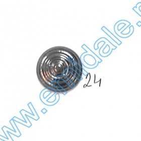 Nasturi Metalizati, cu 4 Gauri, din Plastic, marime 44 (100 bucati/pachet) Cod: S238 Nasturi A646, Marimea 24 (100 buc/pachet)