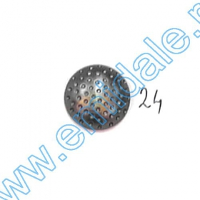 Nasturi Metalizati cu Patru Gauri  S507/40 (100 buc/pachet) Nasturi A796, Marime 24 (100 buc/pachet)