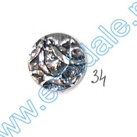 Nasturi AH1231, Marimea 28, Antic-Brass (144 buc/pachet) Nasturi A832, Marime 32, Argintii (100 buc/pachet)