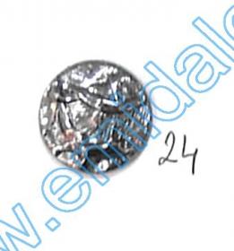 Nasturi cu Picior PL020, Marime 40, Aurii (144 buc/pachet) Nasturi A832, Marime 24, Argintii Inchis (100 buc/pachet)
