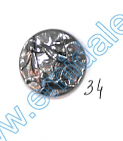 Nasturi cu Picior S241, Marimea 24 (100 buc/pachet) Nasturi A832, Marime 32, Argintii Inchis (100 buc/pachet)