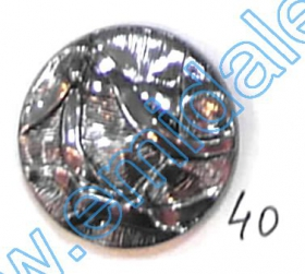Nasturi cu Picior AHWS050, Marime 34 (144 buc/pachet) Nasturi A832, Marime 40, Argintii Inchis (100 buc/pachet)