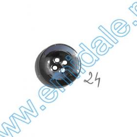 Nasturi Metalizati, cu Picior, din Plastic 15mm (144 bucati/pachet) Cod: 2122 Nasturi A2003, Marime 24 (100 buc/pachet)