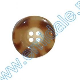 Nasturi Plastic cu Doua Gauri 0312-0111/48 (100 bucati / punga) Culoare: Negru Nasturi H863/34 (100 bucati/pachet)