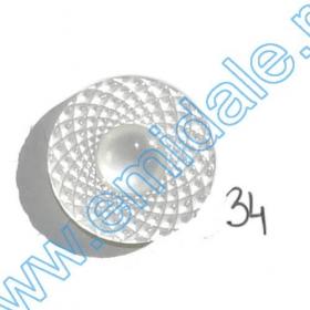 Nasture Plastic cu Picior 0311-0681/24 (100 bucati/punga) Nasturi H1490/34 (100 bucati/pachet)