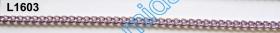 Lant Ornamental 10 mm  (10 m/rola) Culoare: Negru Lant Ornamental (25 m/rola) Culoare: Lila