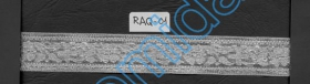 Pasmanterie, 15 mm (15 m/rola) Cod:  0384-0307-15MM Raq 01 Argintie (16.4 m/rola)