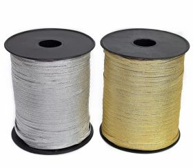 Pasmanterie Trim/Border 2504-06 Silver (500 m/roll)