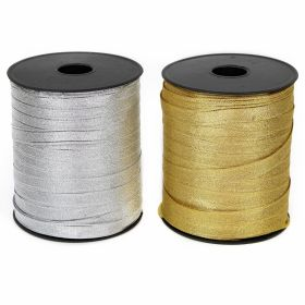 Pasmanterie Trim/Border 2504-10 Silver (300 m/roll)