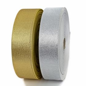 Pasmanterie Trim/Border 2504-40 Silver (100 m/roll)