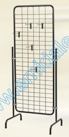 Stender Prezentare Produse Stender TK15-CROM + 15 Carlige