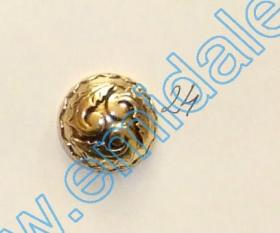 Nasturi cu Picior H1626, Marimea 24 Lin (100 buc/pachet)  Nasture Plastic Metalizat JU823, Marime 24 (100 buc/pachet)