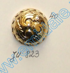 Nasturi A539, Marimea 24 (100 buc/pachet) Nasture Plastic Metalizat JU823, Marime 40 (100 buc/pachet)