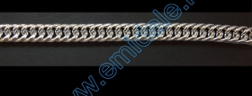 Lant Ornamental 28mm (10 m/rola) Culoare: Negru Metal Chain 20 mm (5 m/roll)