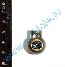 Opritori 0305-3129-BRASS (200 bucati/punga) Opritori W017-1054 Metalizati (500 bucati/set) Culoare: Antic-Brass