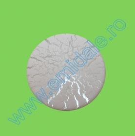 Nasturi cu Doua Gauri 3890/40 (50 buc/punga) Nasturi Plastic  H275/48 (100 bucati/pachet) Culoare: Alb