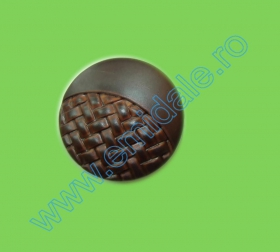 Nasturi cu Patru Gauri 0313-1300/32 (100 buc/punga) Culoare: Alb  Nasturi Plastic  H1368/40 (100 bucati/pachet)