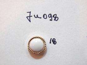 Nasturi cu Picior TR5-1, Marimea 24 (100 buc/pachet)   Nasturi cu Picior JU098, Marimea 18, Aurii (100 buc/pachet)