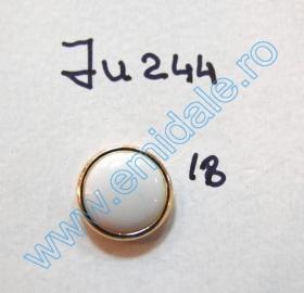 Nasturi Plastic cu Picior, Marime 28 Lin (100 bucati/pachet)Cod: PA52/28 Nasturi cu Picior JU244, Marimea 18 (100 buc/pachet)