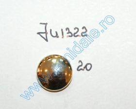 Nasturi cu Picior ZA36, Marimea 24 (200 buc/pachet)  Nasturi cu Picior JU1322, Marimea 20, Aurii (100 buc/pachet)
