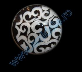 Nasture Plastic cu Picior 0311-1425/44 (100 bucati/punga)  Nasturi AB2636/36 (144 buc/punga)