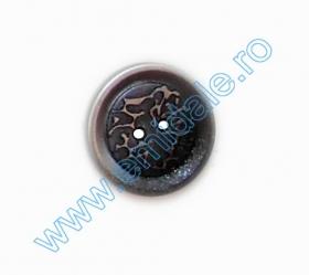 Nasture Plastic cu Picior 0311-0681/24 (100 bucati/punga) Nasturi cu Doua Gauri AB2737/40 (144 buc/punga)
